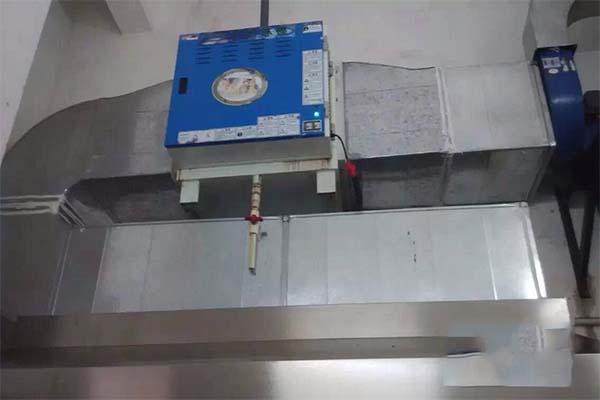 厨房油烟净化器的安装图