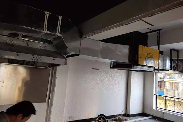 厨房油烟净化器工艺