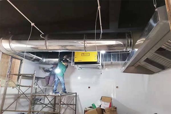 厨房油烟净化器的排烟风机种类