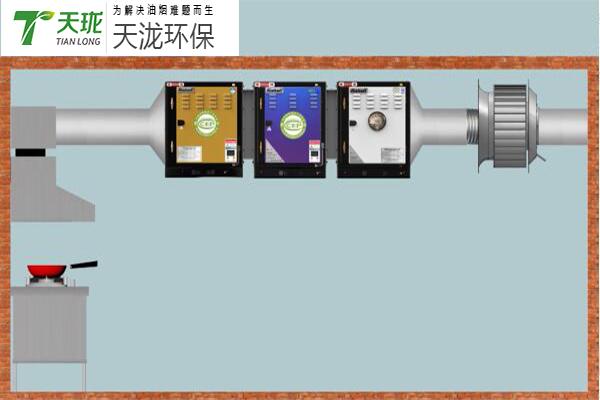 油烟净化器风机如何安装