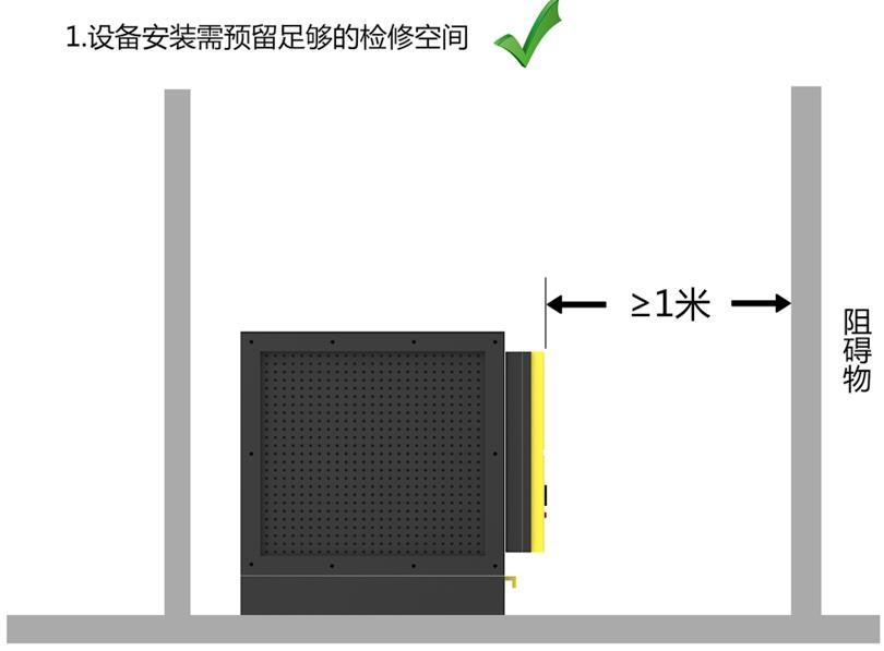 油烟净化器电场安装图